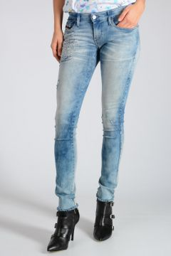 D.N.A. 13cm Stretch Denim SKINZEE-LOW Jeans