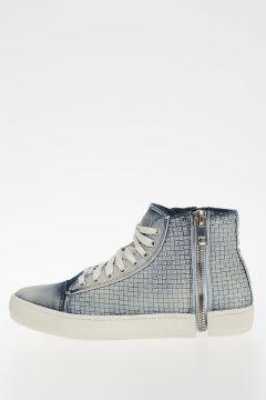 Sneakers S-NENTISH W in Denim Intrecciato