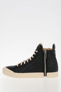 Braided Leather S-NENTISH Sneakers