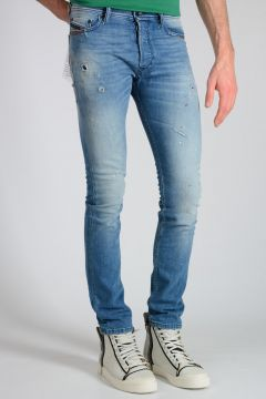 SLOW INDIGO Jeans TEPPHAR in Denim Stretch 16cm