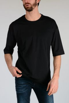 BLACK GOLD T-shirt TITAN in Jersey di Cotone