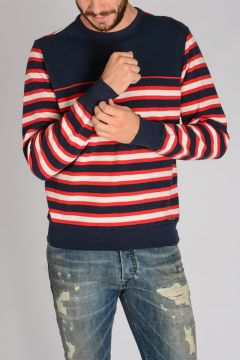 Striped 100% Cotton MELVIS Sweatshirt
