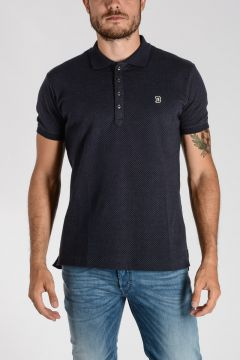 Cotton T-KALAR-DOTS Polo