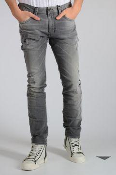 D.N.A. 18cm Distressed Denim THAVAR Jeans