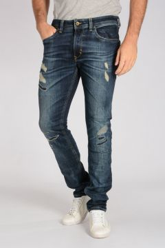 16 cm Destroyed Stretch Denim THAVAR Jeans