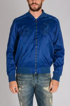 Cotton blend BLUES Jacket