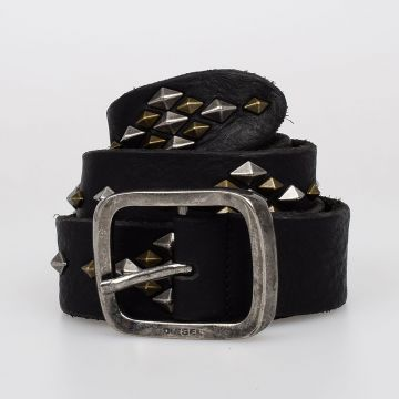 35 mm B-SQUAD Studded Leather Belt
