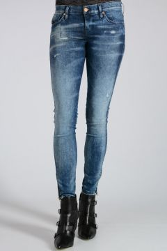 D.N.A. 11cm Stretch Denim SKINZEE-LOW-ZIP Jeans