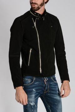 BLACK GOLD Leather LESTAN Jacket