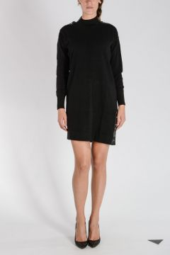 Wool Blend M-VOS Dress