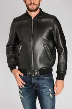 L-BLUFF Leather Jacket