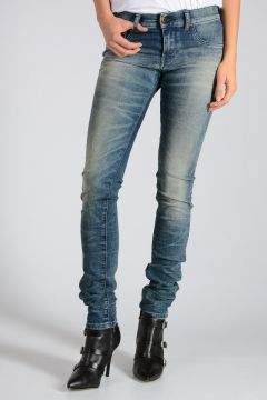 14cm Stretch Denim LIVIER Jeans