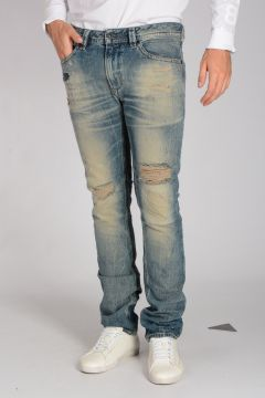 17cm Destroyed Denim THAVAR L.32 Jeans