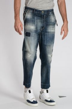 Jeans CARROT-CHINO M in Denim 17 cm