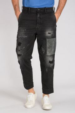 Jeans CARROT CHINO in Denim Stretch 16cm