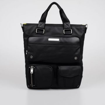 Fabric GEAR TOTE Shoulder Bag