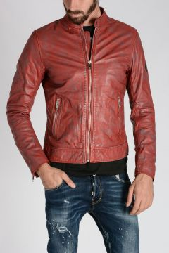 Giacca L-ALL-ROW-2 in Pelle