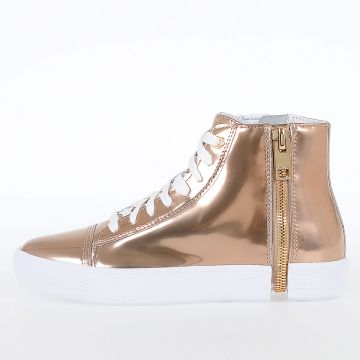 Sneakers S-NENTISH W in Pelle Metallizzata