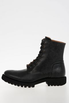 Leather D-DEPP Boots