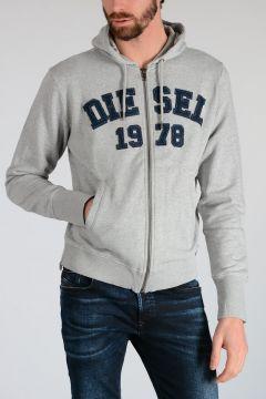 Sweatshirt S-JOE-HOOD-LT with Pockets