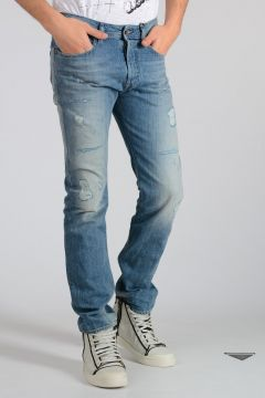 D.N.A. 18cm Distressed Denim BUSTER Jeans