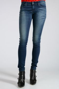 12cm Stretch Denim SKINZEE-LOW Jeans