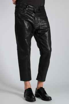 LIMITED EDITION 17cm Waxed Denim NARROT Jeans