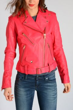 Leather L-LUPUS-L Biker Jacket