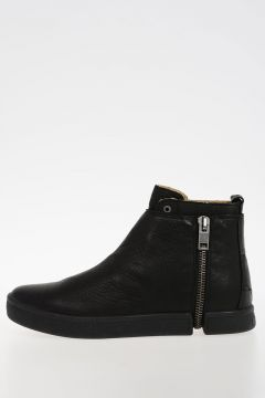 Leather S-LEEVE Boots