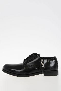 Leather D-ZIPPHIM DERBY Shoes