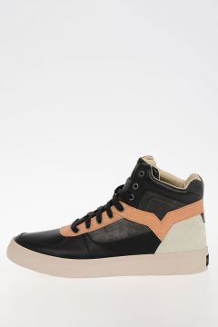 Leather S-SPAARK MID Sneakers