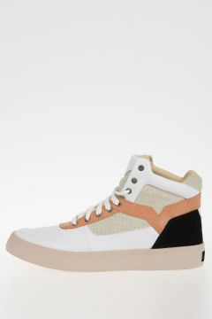 Leather S-SPAARK MID High Sneakers