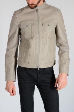 BLACK GOLD Leather LANSTON Jacket