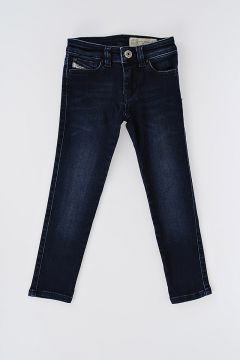 Stretch Denim SKINZEE-LOW Jeans with Swarovski