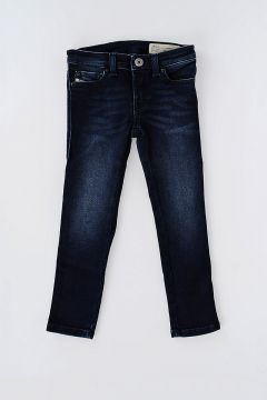 Jeans SKINZEE-LOW in Denim Stretch Con Swarovski