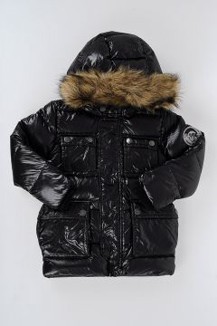Down Jacket JOVVY With Faux Fur