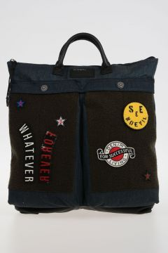 Denim Shopping Bag DE-KEEP TOTE