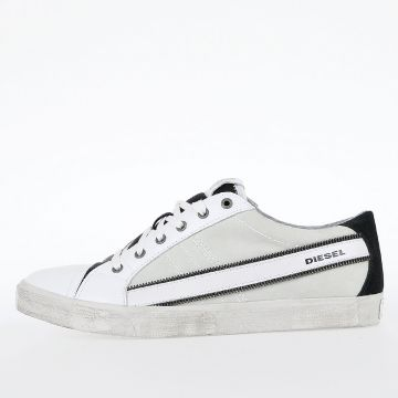 Leather D-STRING LOW Sneakers