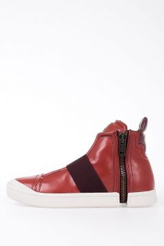 Leather S-NENTISH STRAP sneakers