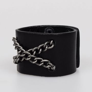 A-FLOWW Leather Chain Bracelet