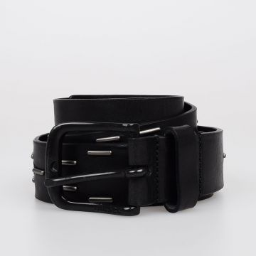 35 mm B-NIGHT Studded Leather Belt