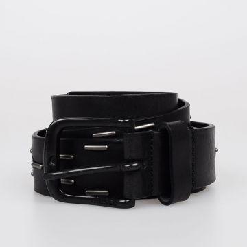 35 mm B-NIGHT Studded Leather Belt