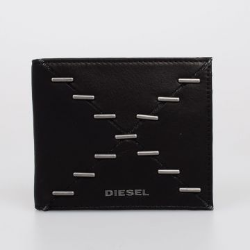 NEELA S Studded Leather Wallet