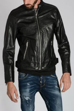 Leather L-REED Jacket