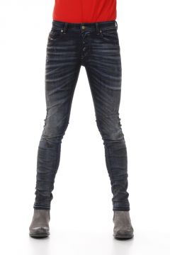 15 cm Dark Destroyed Denim SLEENKER Jeans