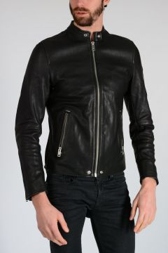 Leather L-ROSHI Jacket