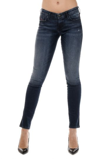 Jeans SKINZEE-FLARE in Denim Stretch 14 cm