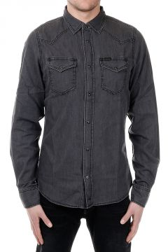 NEW-SONORA Denim Stretch Shirt