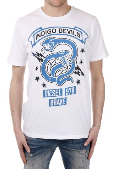T-NEWYN Snake Printed T-shirt