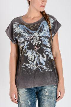 T-Shirt T-SERRA-F Stampata